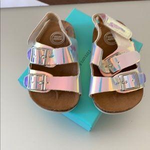 Infant sandal size 2c